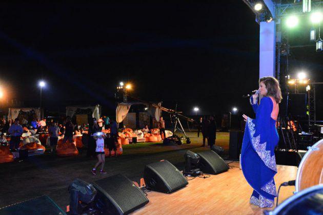 نيكول سابا تحيي سهرة رمضانية لصالح شركة Orange