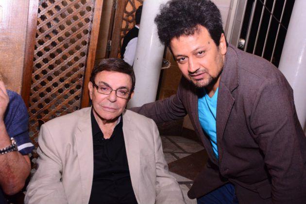 المصور سيد شعراوي برفقة سمير صبري