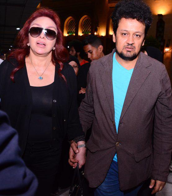 المصور سيد شعراوي برفقة نبيلة عبيد