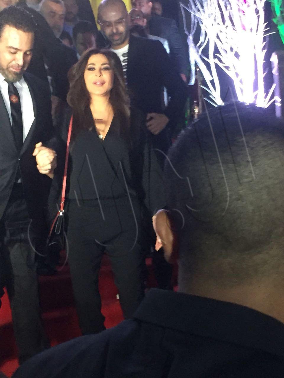 النجمان اللبنانيان اليسا وعاصي الحلاني