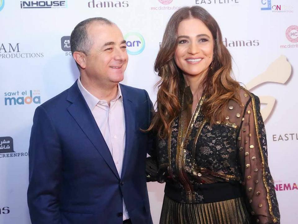 جوليا بطرس وزوجها الوزير السابق الياس بو صعب