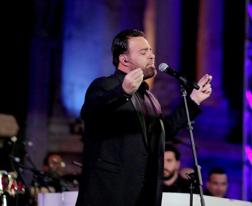 عاصي الحلاني قدّم أجمل أغانيه في جرش