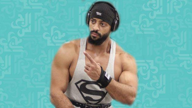 بطل كمال الأجسام السودانيمحمد عبد اللطيف جيقي