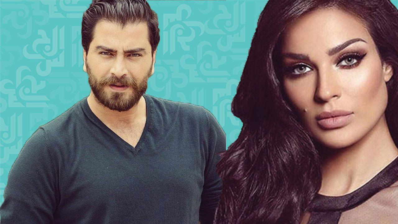 نادين نسيب نجيم تثير الفتنة بين ممثل سوري وصحافي