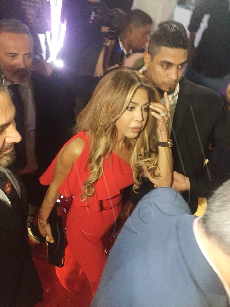 نوال الزغبي في افتتاح روتانا كافيه في مصر