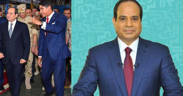 احمد ابو هشيمة والرئيس المصري