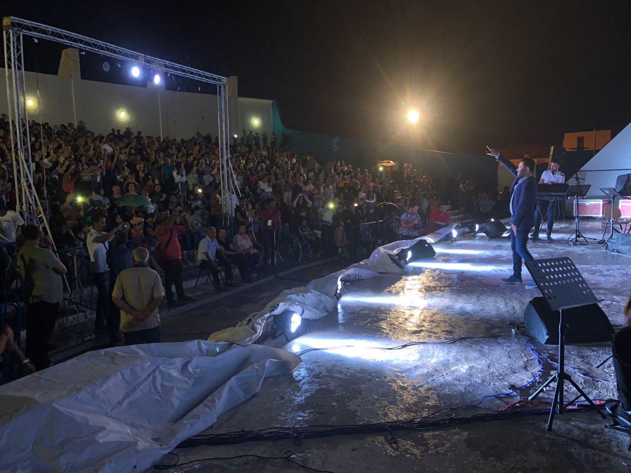 زياد برجي وحفل في مهرجان (قابس الدولي)