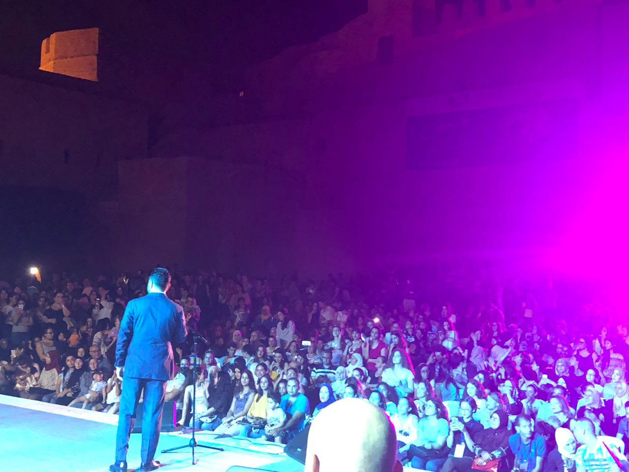 جمهور زياد برجي ردّد كل أغانيه