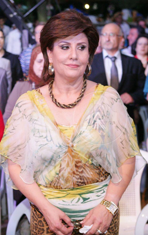 الممثلة اللبنانية ونقيبة الفنانين السابقة سميرة بارودي