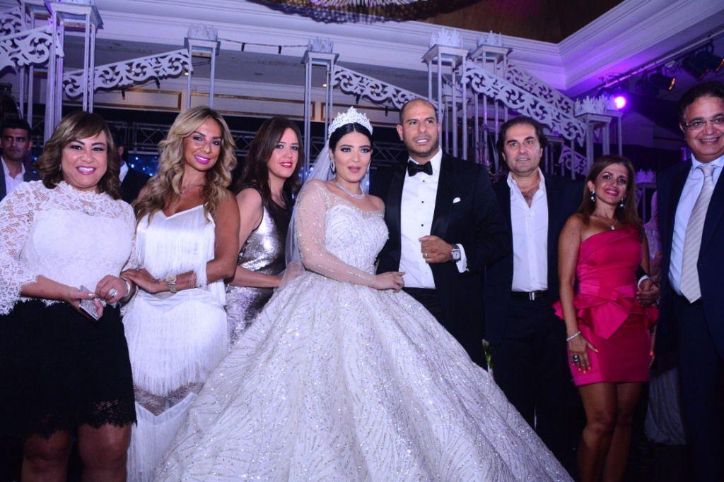 شيرين يحيا مع عريسها محمود دسوقي (1)