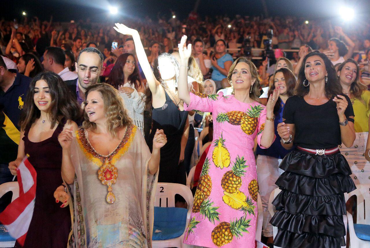 كوليت الحلاني زوجة فارس الغناء العربي عاصي الحلاني
