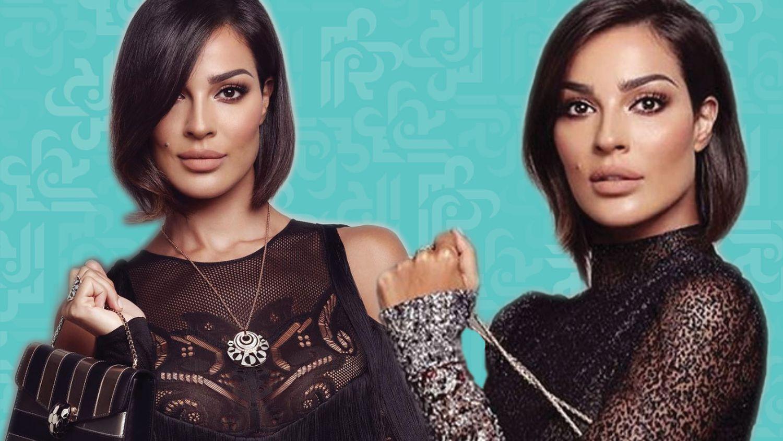 النجمة للبنانية نادين نجيم