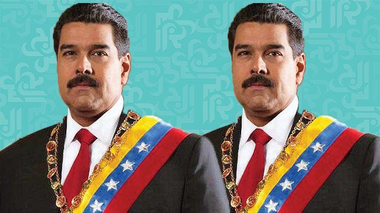 لحظة محاولة اغتيال رئيس فنزويلا - بالفيديو