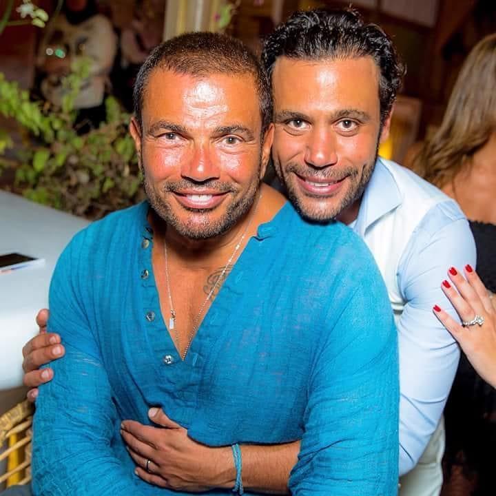 من اليونان العريس محمد إمام وعمرو دياب
