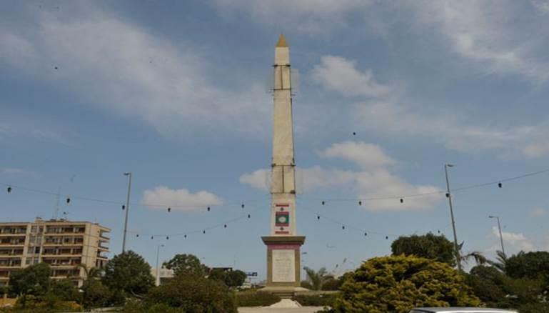 تمثال أو مسلة الاسد في لبنان