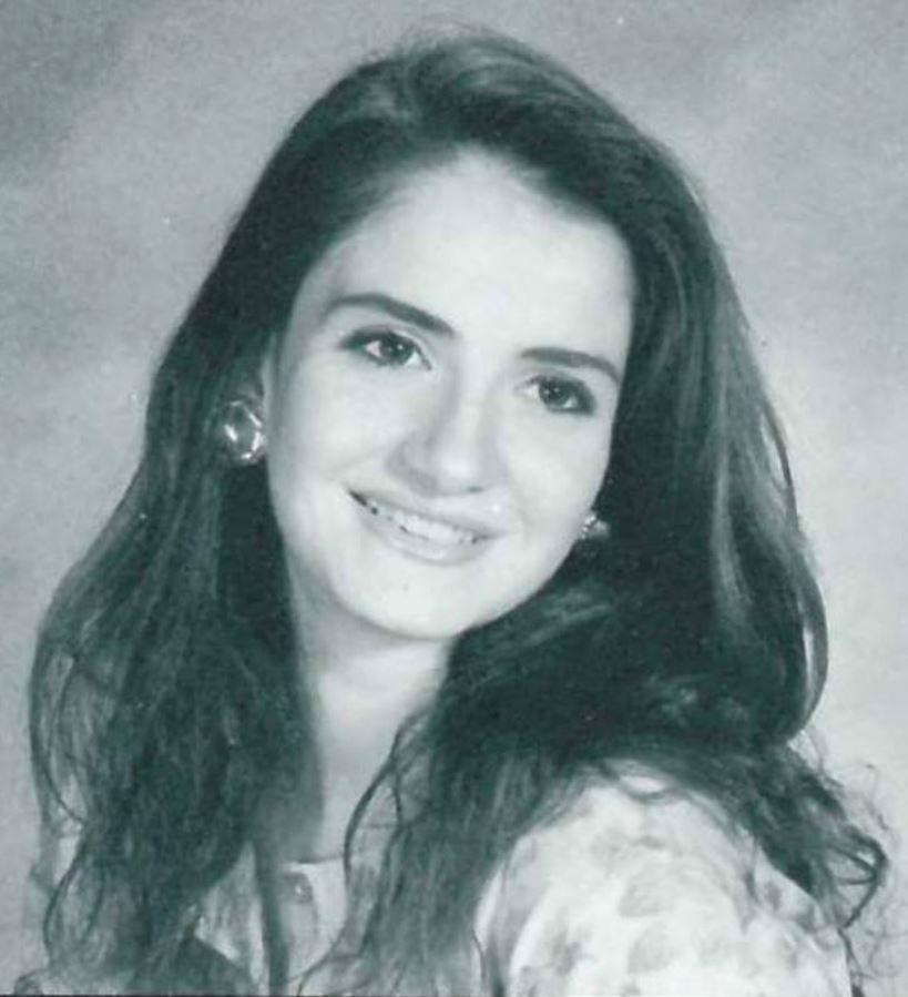 ديانا بكداش ملكة جمال لبنان العام 1991