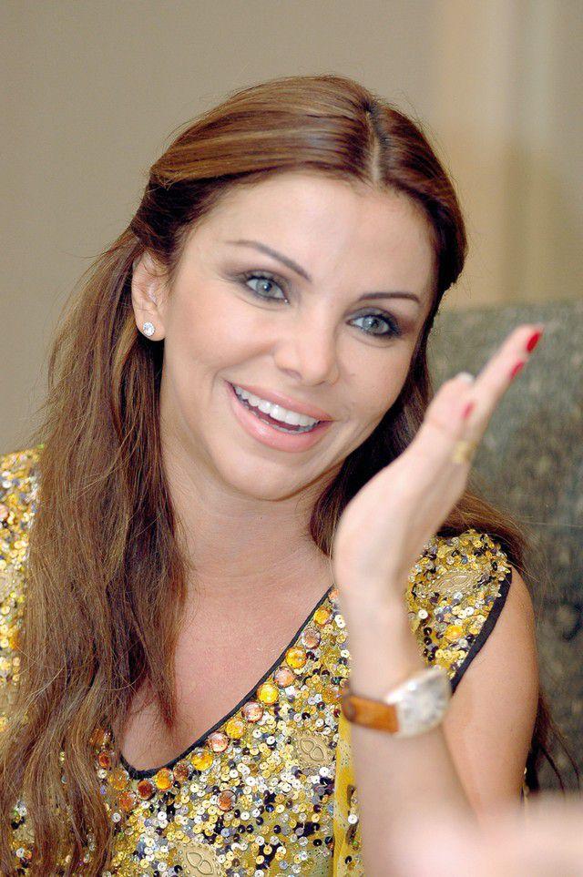 رزان المغربي الاعلامية والمغنية والممثلة لم تجرِ تجميلاً بعد