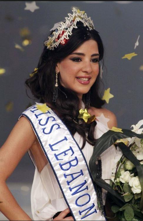 رهف عبدالله ملكة جمال لبنان 2010