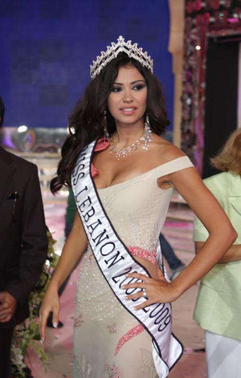 روزريتا طويل ملكة جمال لبنان 2008