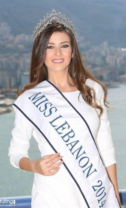 سالي جريج ملكة جمال لبنان 2014