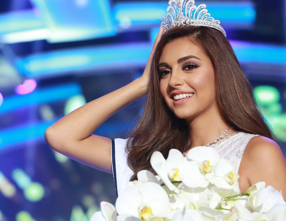 ساندي ثابت ملكة جمال لبنان 2016