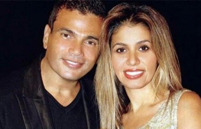 عمرو دياب مع زوجته الثانية زينة عاشور