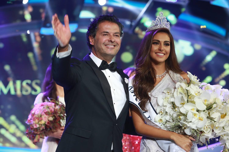 فاليري ابو شقرا ملكة جمال لبنان 2015 أحيا الحفل راغب علامة