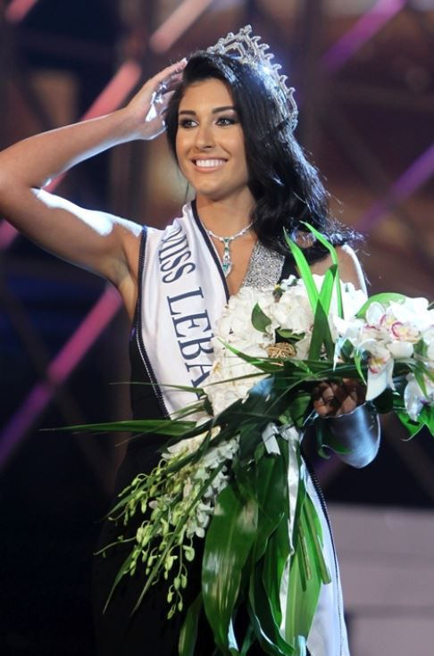 كارين غراوي ملكة جمال لبنان 2013