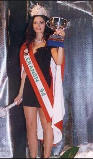 لارا بدوي ملكة جمال لبنان 1994 واختفت ولا صورة لها أفضل