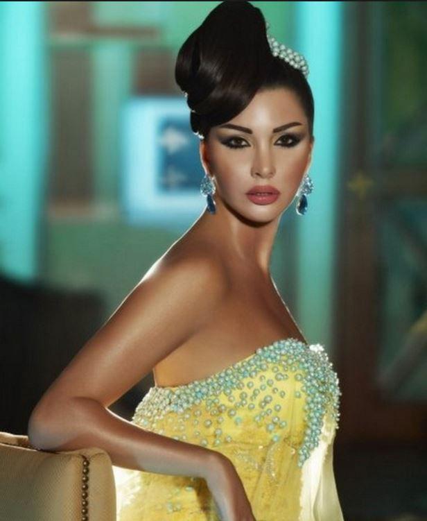 لاميتا فرنجية ملكة جمال لبنان 2005