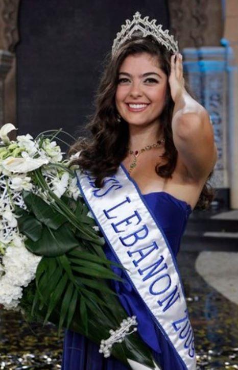 ملكة جمال لبنان مارتين اندراوس 2009