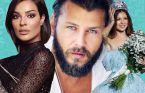 هذا النجم التركي يتابع ملكة جمال لبنان هل من قصة حب..