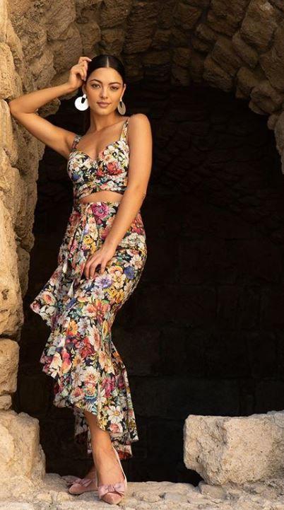 ملكة جمال الكون قبل ساعات من دخول الحفل ديمي