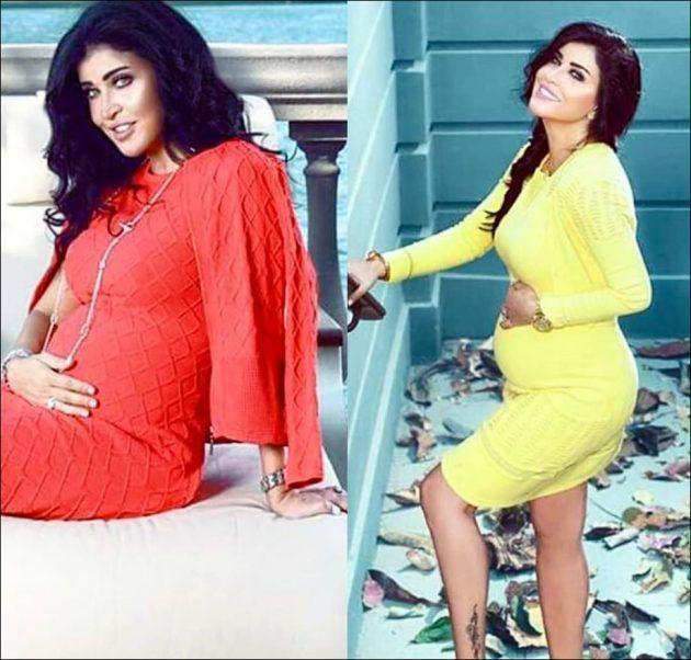 جومانا مراد أجمل حامل في صور جديدة