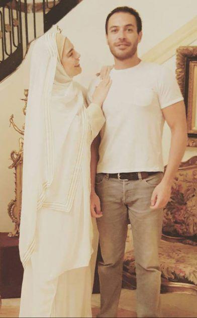 شريهان-مع-عمر-ابن--زوجها-علاء-الخواجا-وزوجته-إسعاد-يونس