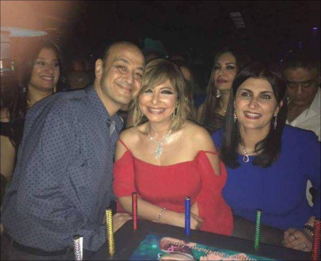 عمرو أديب وزوجته لميس الحديدي
