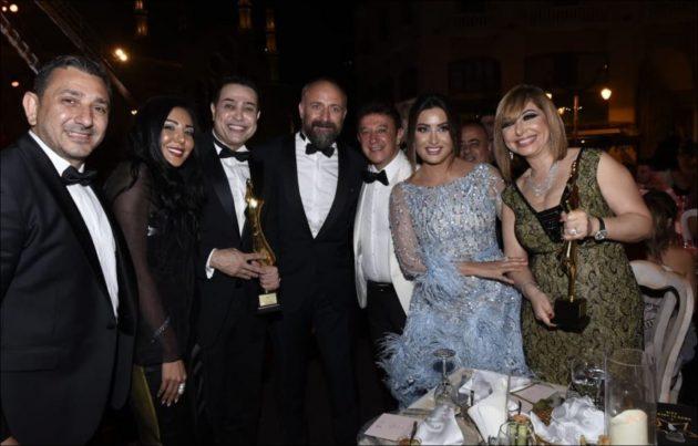 لميس الحديدي في بيروت مع نجوم عرب وأتراك