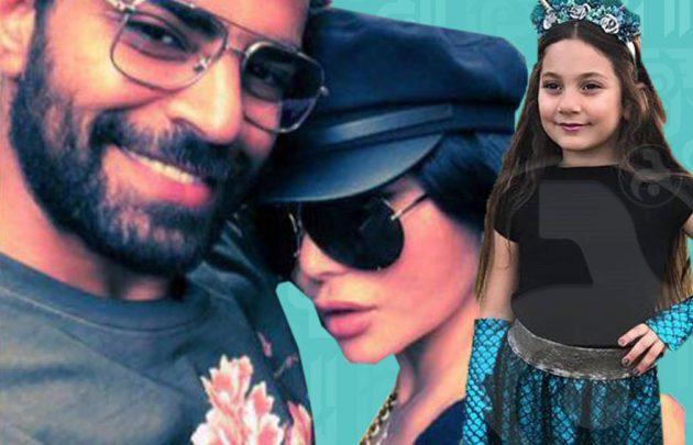 رهف حفيدة هيفا تحتفل اليوم ودانيلا تبكي وهيفاء مع زوجها الذي لم تعترف به- خاص بالصور
