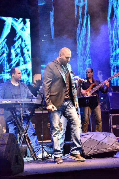 البوب ستار رامي عياش على المسرح