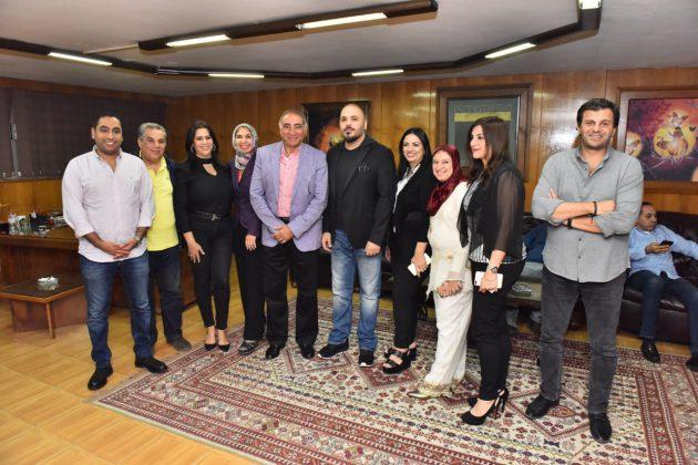 رامي عياش في كواليس الحفل