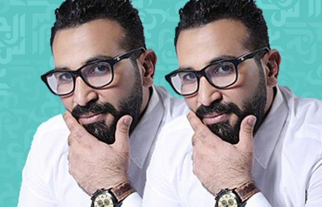 أحمد سعد: يا رب شعر صدري يعجبكم! - صورة