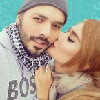 """""""هضامة"""" ابنة رامي وداليدا عياش - صورة"""