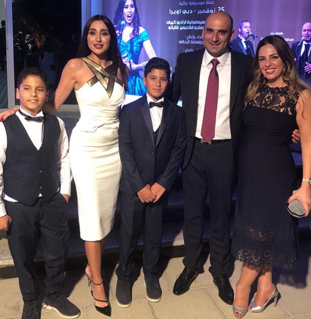 جيسي عبدو تحتفل بالإستقلال في دبي!