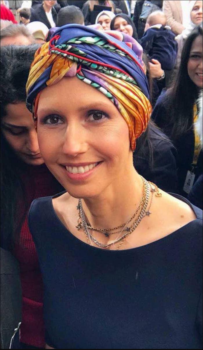 السيدة الأولى أسماء الأسد