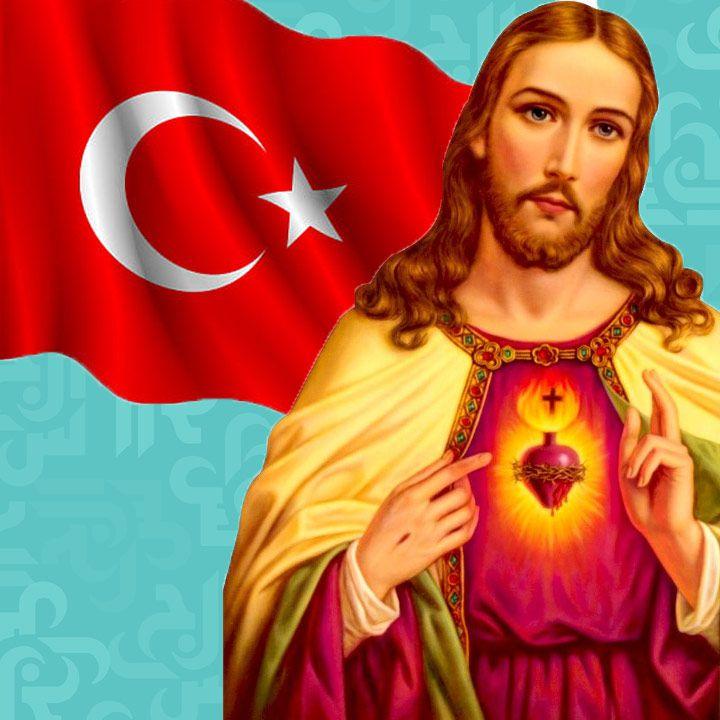 إعلانات الإسلام في تركيا ضد المسيح - صورة
