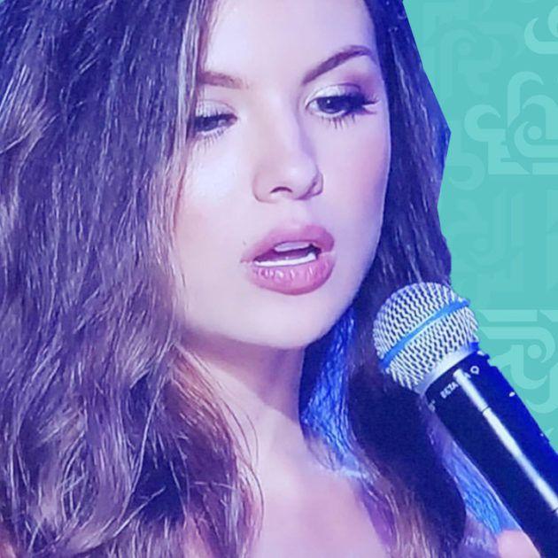 ملكة جمال لبنان بالمايوه الأسود - فيديو