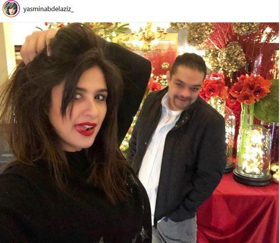 ياسمين عبد العزيز وصورة خارجة عن المألوف