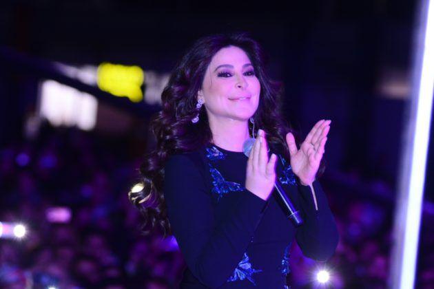 هكذا أطلت إليسا في مصر - صور