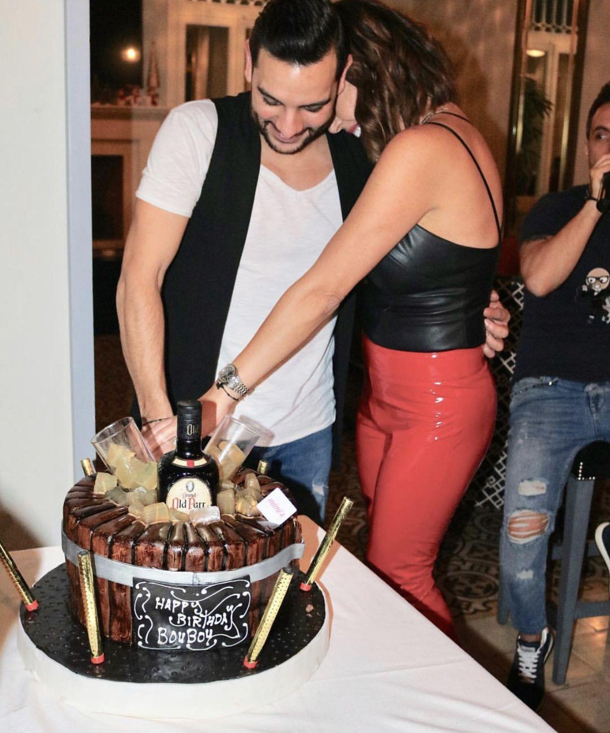رولا شامية تحضن رودي (بوبو) وتحتفل بعيده
