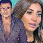 دينا الشربيني انفصلت عن عمرو دياب؟